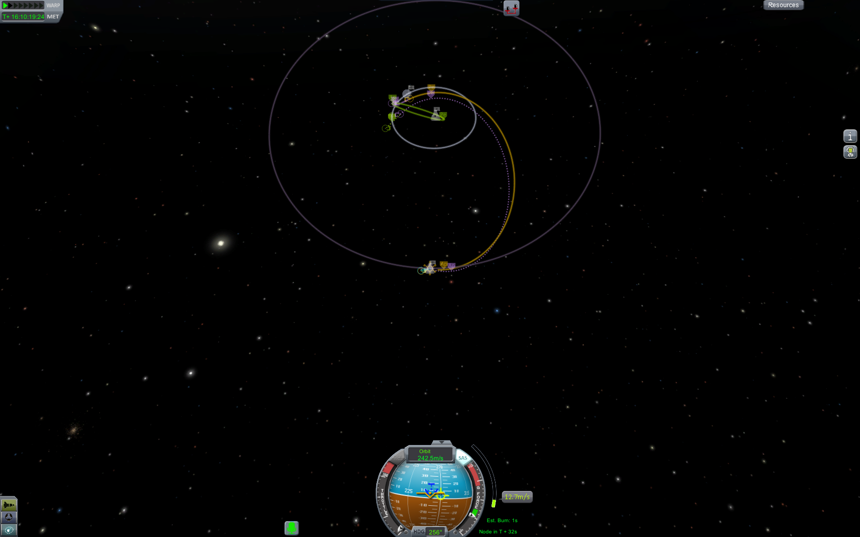 how to return to kerbin from orbit